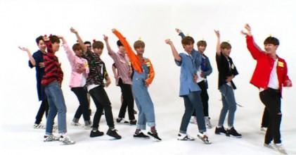 워너원, 주간아이돌서 걸그룹 댄스 대결 펼쳐