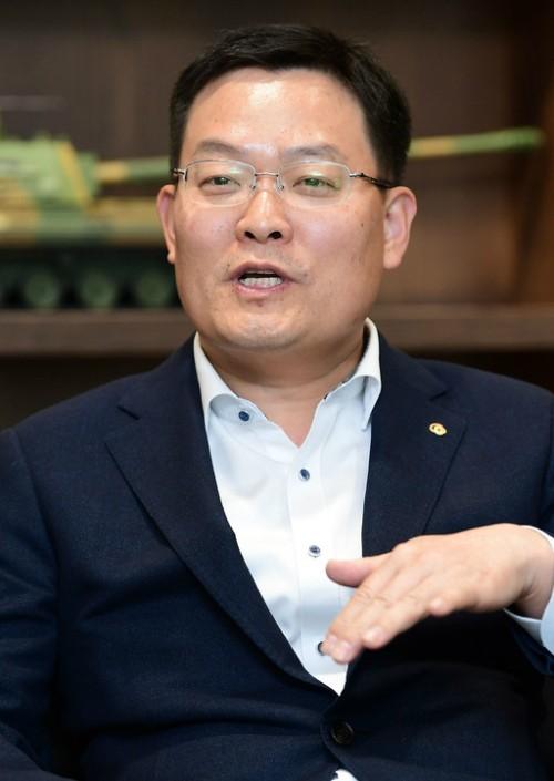 """손재일 한화지상방산 대표 """"K-9, 해외마케팅 강화… 2025년 세계 10위권 방산기업 도약"""""""