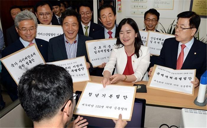 '1호 법안' 청년일자리법 1년9개월째 방치