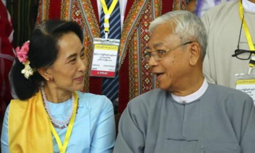 아웅산 수치의 '페르소나' 틴 초 미얀마 대통령, 건강악화로 물러나