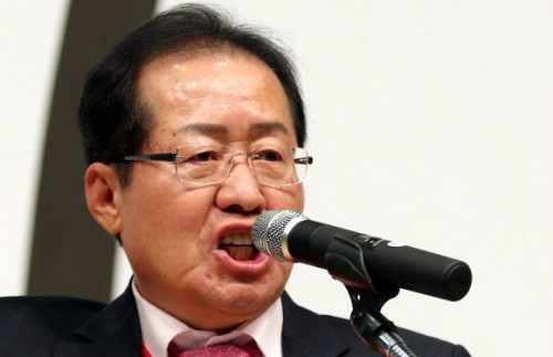 """홍준표 """"바닥민심 우리에게 와…'6월 돌풍' 확신"""""""