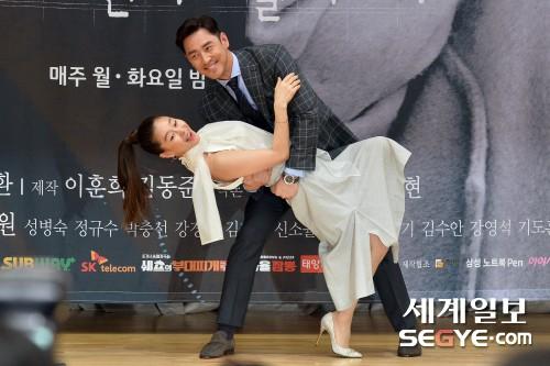 김성수-예지원 '우리 포즈 어때요?
