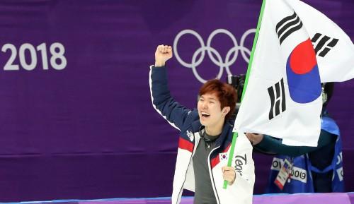 누구도 예상 못했다…김태윤, 남자 1000m 깜짝 동메달 획득