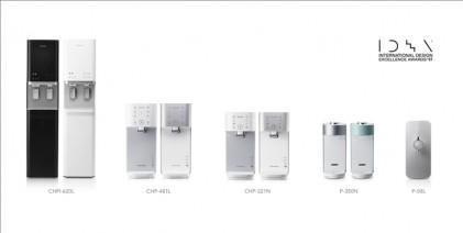 코웨이, 美 IDEA서 정수기 5개 제품 디자인상 수상