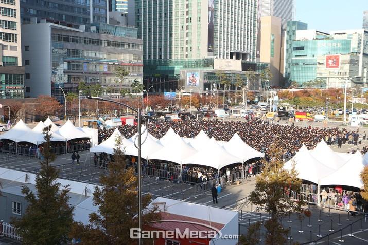 풍성한 이벤트로 시선집중, 지스타 3일차 방문객 7.8% 증가