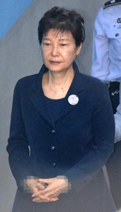 박 전 대통령 수용자번호에 적힌