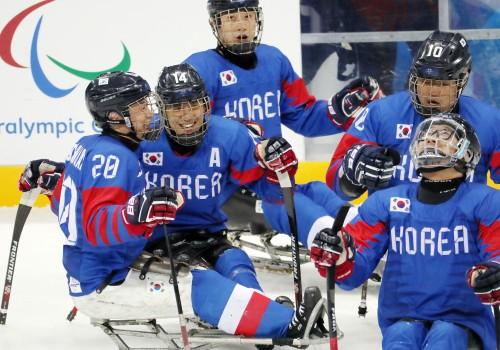 패럴림픽 아이스하키, 사상 첫 동메달 쾌거
