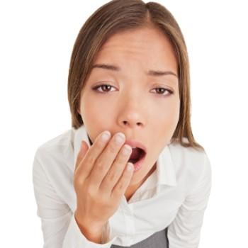 하품, 편두통 알리는 전조 및 초기증상일 수 있어
