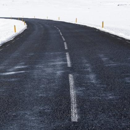 도로 위의 적 블랙아이스 사고 예방법