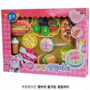 (즐거운 생일파티 세트) 음식 모형 요리 재료 주방놀