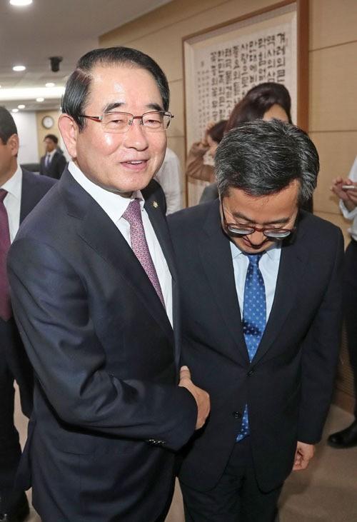 """김동연, 다스 상속세 꼼수 의혹 관련 """"제도 개선"""""""