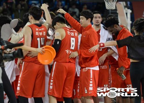 서울 SK, 전자랜드전 88-84 승리