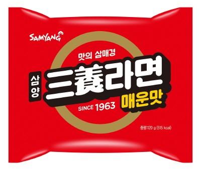 삼양식품, 매운맛 강조한'삼양라면 매운맛'출시