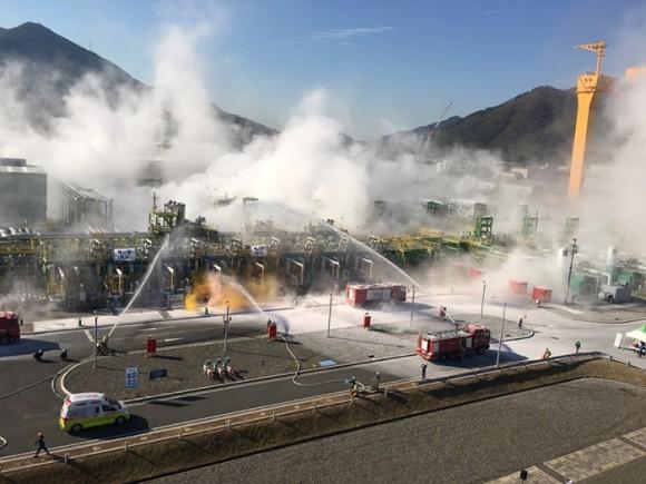 가스공사, 재난대응훈련 평가 우수기관 선정