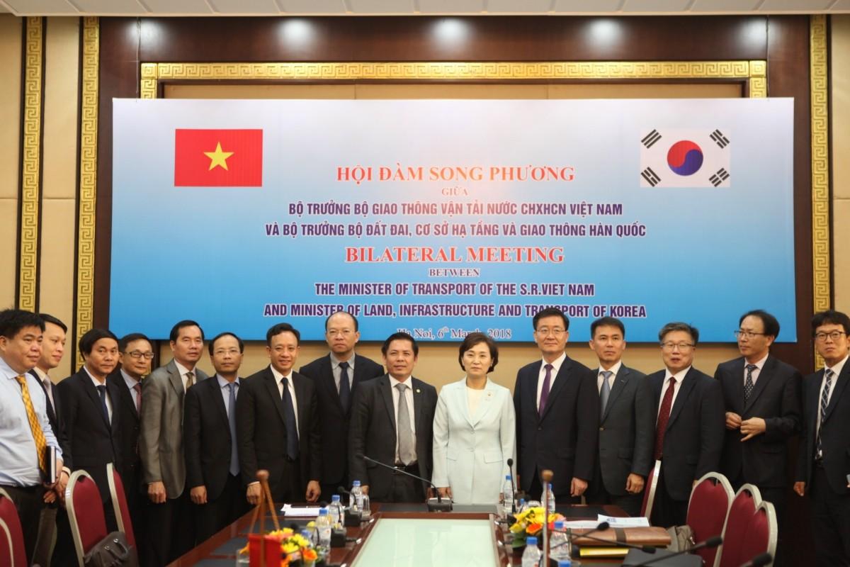 김현미 국토부 장관, 베트남과 교통·스마트시티 협력 추진