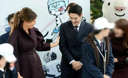 """'씨네타운' 민호, 美 영부인 멜라니아의 첫인상? """"놀라워"""""""