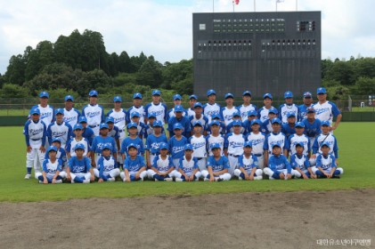 대한유소년야구연맹 대표팀, 일본국제교류전 참가