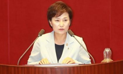"""김현미 """"6·19대책은 투기 세력에 보내는"""