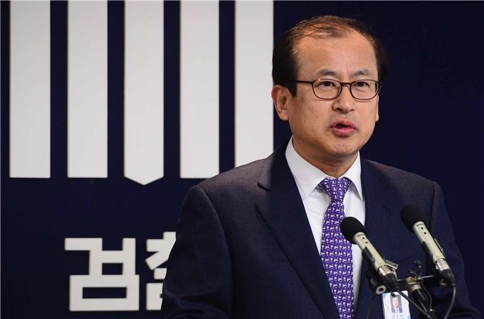 """검찰 """"정호영 전 특검 '혐의 없음'"""""""
