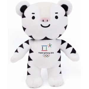 평창동계올림픽마스코트 수호랑인형30cm 반다비인형30