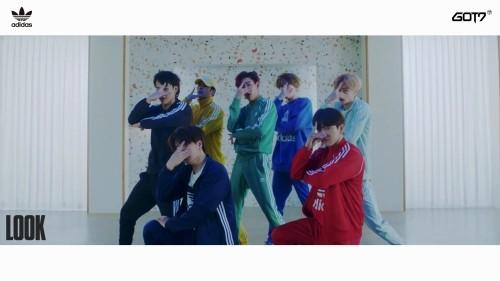 갓세븐, 7人7色 컬러풀한 에너지 'Look' 퍼포먼스 영상 공개