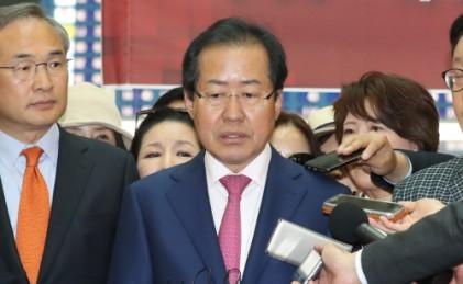 """자유한국당 안팎 """"홍준표 페이스북 자제해야"""""""