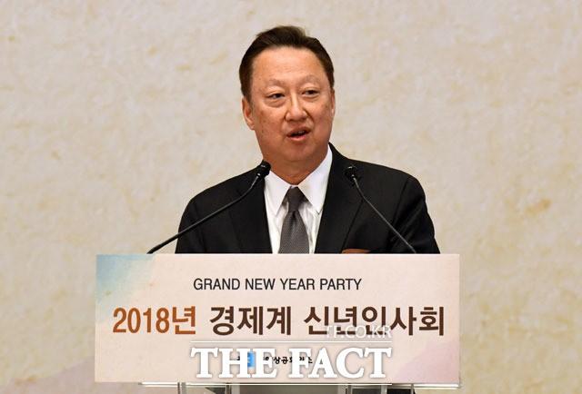 박용만, 서울상의 회장에 재선출…임기 3년 연장