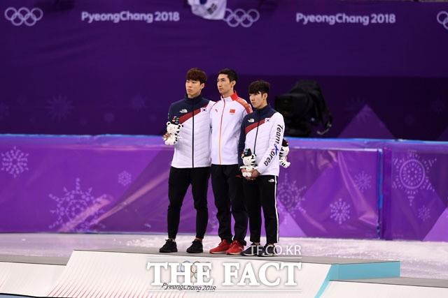 황대헌-임효준, '쇼트 500m서 나란히 메달 획득'