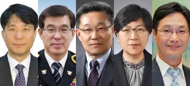 특허청장 성윤모·해경청장 박경민 등 차관급 5명 인선