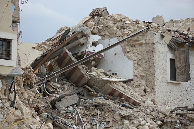 멕시코 지진 아수라장, 5층 건물 5초 만에