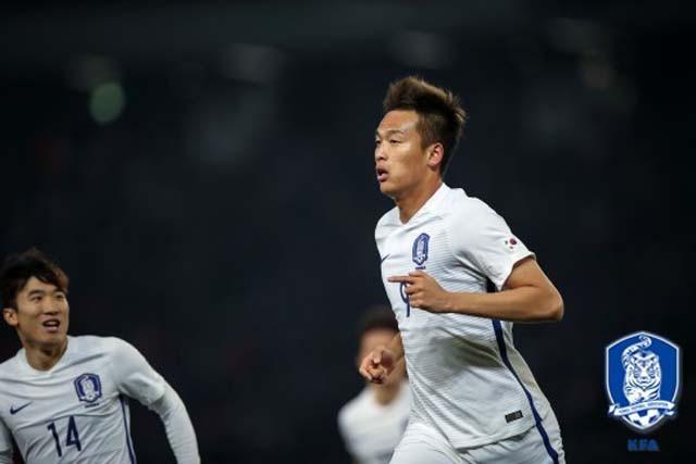 김신욱 멀티골·정우영 FK골! 한국, 일본에 4-1 역전(후반)