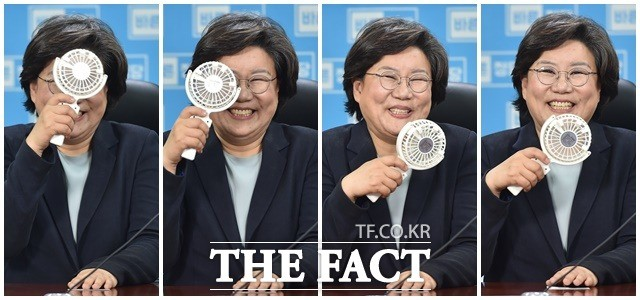 이혜훈, 신임 당대표의