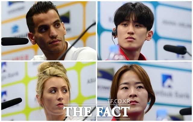 세계태권도선수권대회 시작!…기자회견부터 팽팽한 기싸움