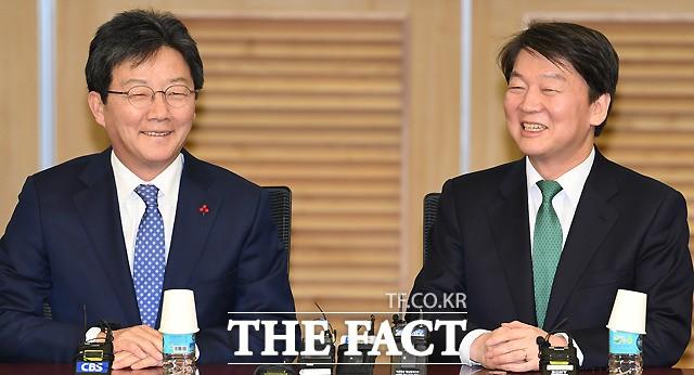 안철수·유승민 '통합개혁신당' 창당 선언