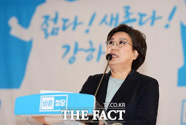 """바른정당 당 대표 이혜훈 의원 선출…""""당, 보수 본진될 것""""(종합)"""