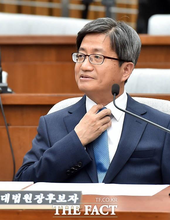 김명수 대법원장 후보자