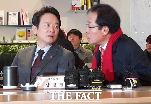 홍준표가 찍은 한국당 경기도지사 후보는 결국 남경필?