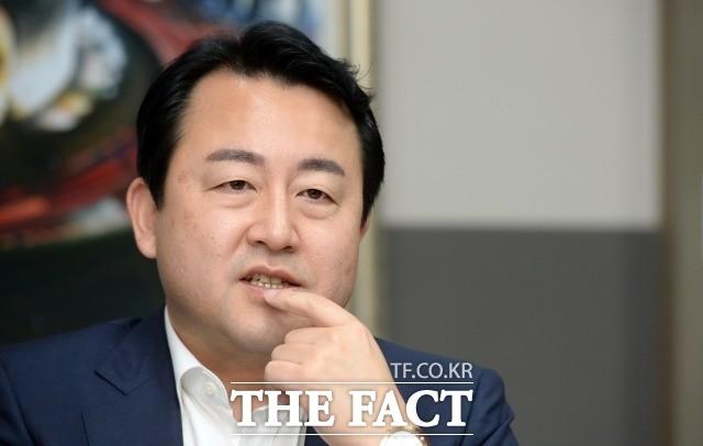 """경기지사 예비후보 김용남 """"홍준표 대표 입 다물면 지지율 오를 것"""""""