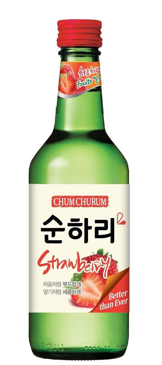 롯데주류, 신제품 '순하리 딸기' 수출만 주력, 국내 미출시 이유는?