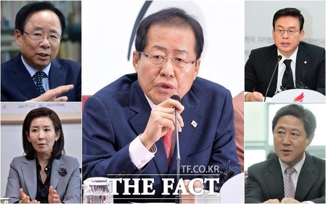 홍준표 향한 한국당 중진 4인의 이유 있는 '반란'