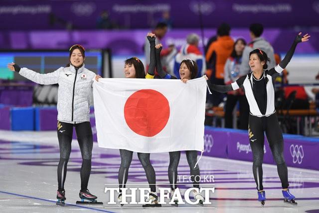 '여자 팀추월, 금메달의 주인공은 일본'
