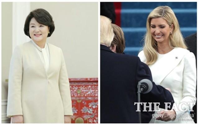 '트럼프 비밀병기' 이방카 방한, 김정숙 여사와 케미는?