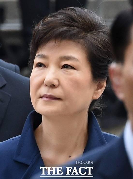 피고인 박근혜 전 대통령 모습 언론에 공개된다