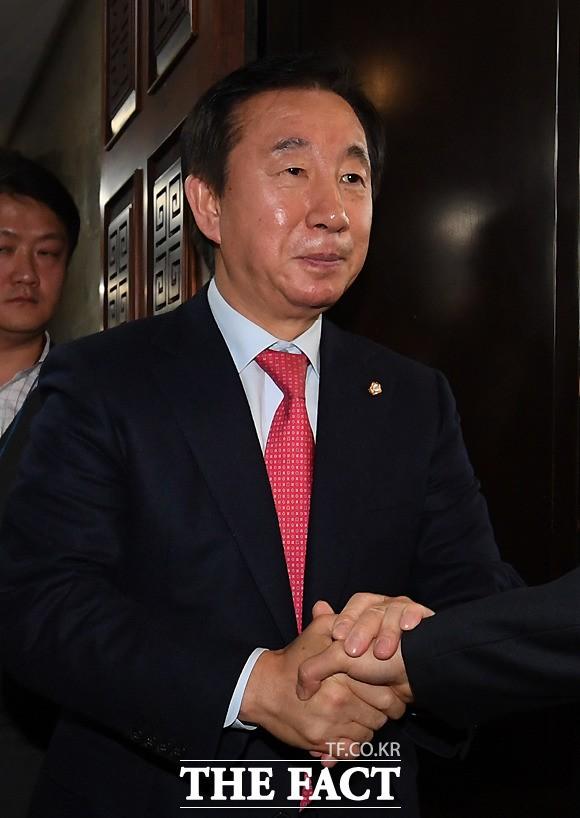 김성태 '대문론'…한국-바른 통합 논의 불 붙일까?
