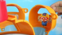 터닝메카드W 고브 vs 아머피트 뽀로로와 공룡마왕의 장난감 배틀! - 뽀로로 장난감 애니 by 토이튜브TV Pororo Toy Animation