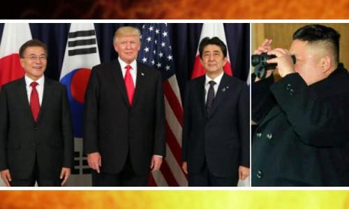 北 코앞서 韓·日 공조 과시한 트럼프, 美·中 빅딜론 주목