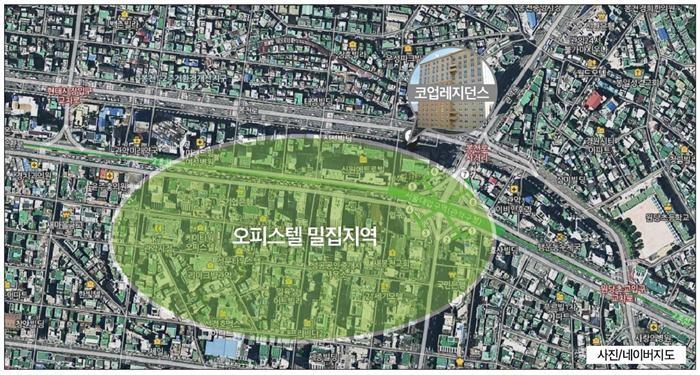 (세모이배월: 서울대입구 코업레지던스) 작지만 강한 오피스텔