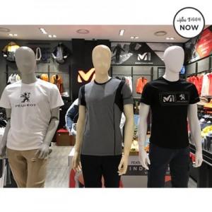 밀레 남성 여름용 반팔 티셔츠 (MPLUT141 MUMUT457 MPKUT110)(갤러리아)