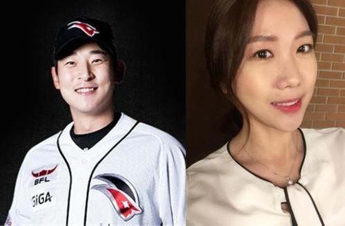 '스포츠 커플' 프로골퍼 박시현-KT 투수 최대성 12월 결혼