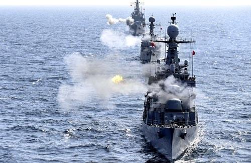 해군, 해상도발 격멸 기동훈련